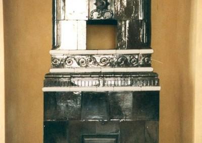 Titel: Ofen im Schloss Caputh, im Schlafgemach der Kurfürstin, R. 18  Fotograf: Andreas Fleischer